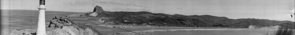 Lighthouse and surrounding area, Castlepoint, ca 1927