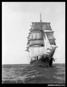 Three masted barque RONA (POLLY WOODSIDE)