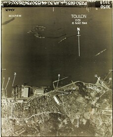 Reconnaissance Photo Aerial View Toulon France