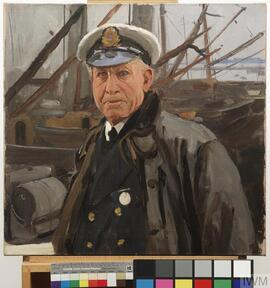 The Skipper. Captain William Lyons, HMT Semiramis, 1917