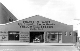 Yellow System rent-a-car company: Miami, Florida