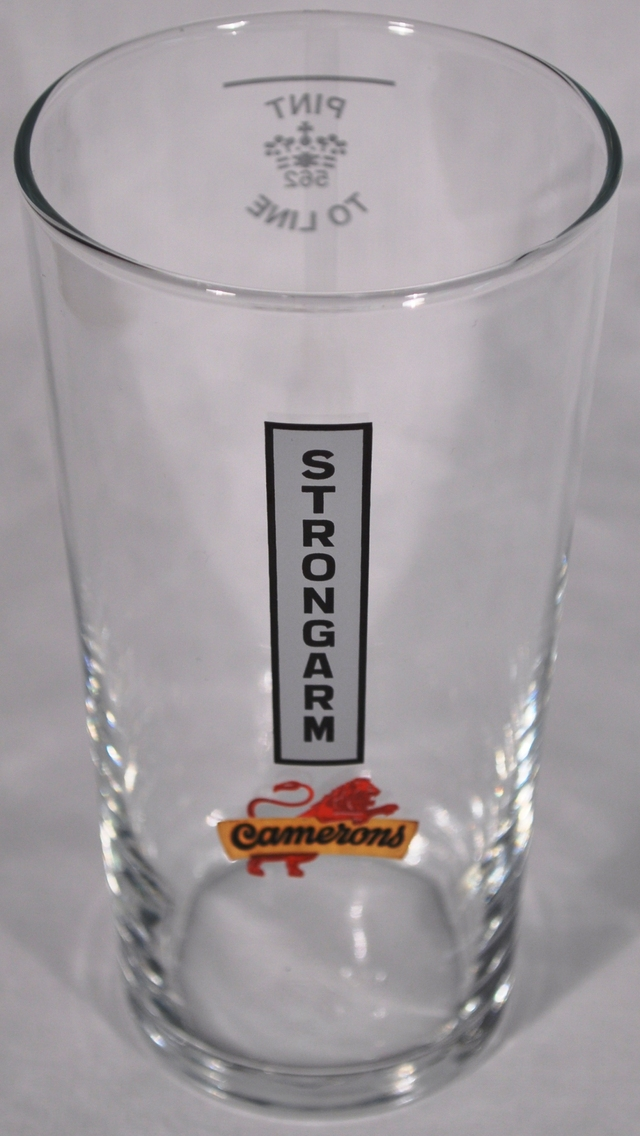 Strongarm Pint Glass